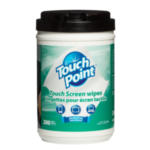 Touch Screen Wipes (Canister) - Touch Point