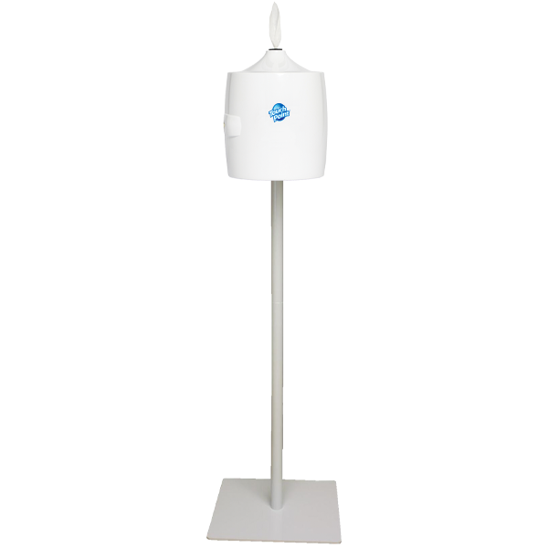 pole stand for wall dispenser