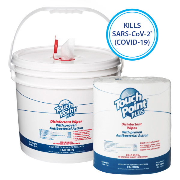 Plus Disinfectant Wipes with Bucket - WD900B