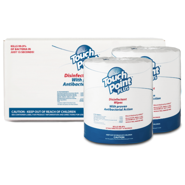 WD1200 - Plus Disinfectant Wipes Box